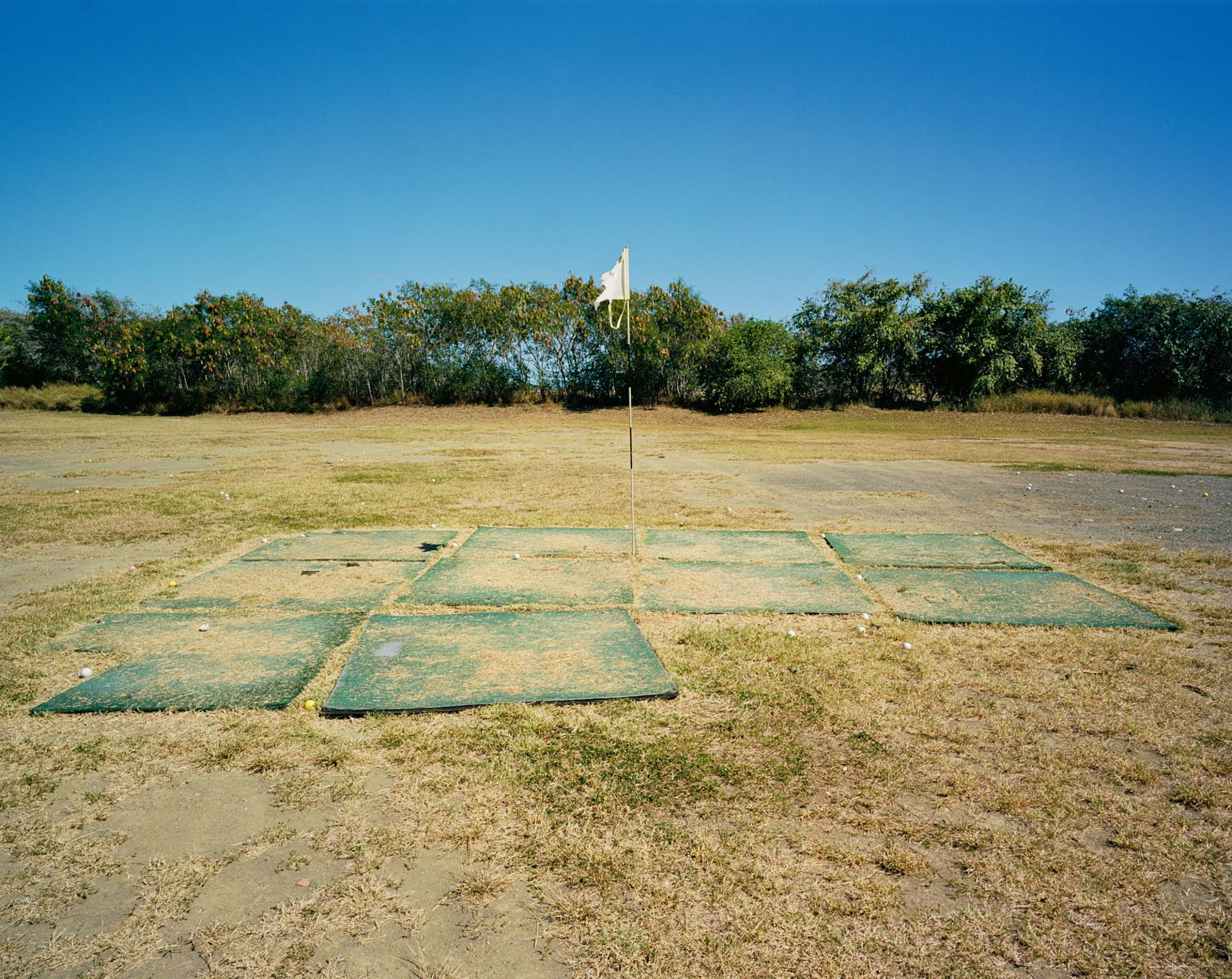 Lateral Hazards Driving Range